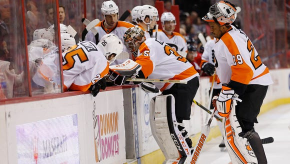 Steve Mason already missed six games with a right knee