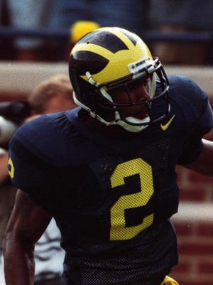 Michigan's Charles Woodson in 1996.