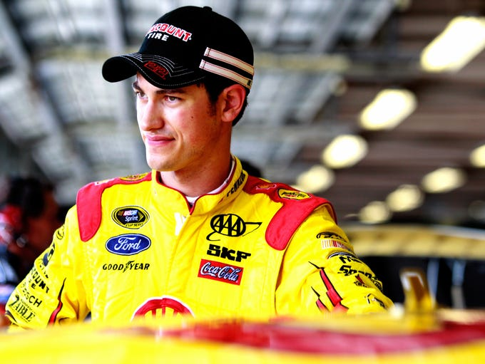 """Joseph """"Joey"""" Logano was born on May 24, 1990, in Middletown, Conn. Former Nationwide Series driver Randy LaJoie nicknamed him """"sliced bread"""" (as in the greatest thing since)."""