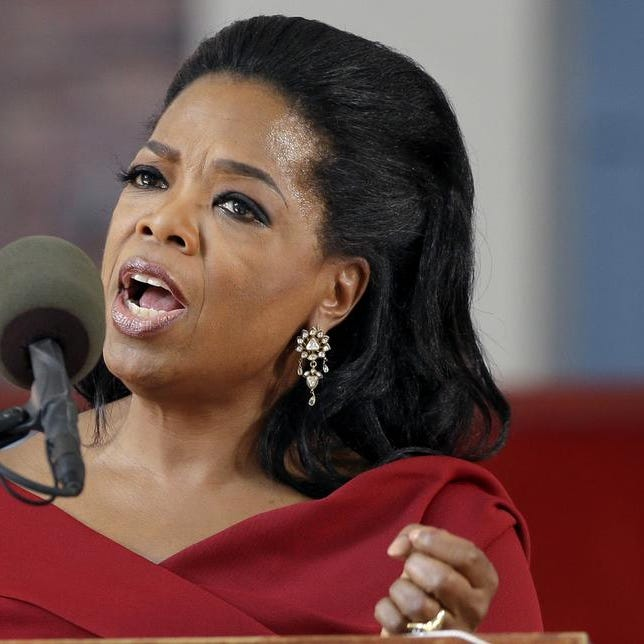 """Oprah Winfrey says she had a racist encounter while shopping in Switzerland _ and the apologetic national tourist office agrees. The billionaire media mogul told the U.S. program """"Entertainment Tonight"""" that a shop assistant in Zurich refused to show her a black handbag because it was """"too expensive"""" for her. She was in town to attend last month's wedding of her longtime pal Tina Turner, who lives in a Swiss chateau along Lake Zurich. Forbes magazine estimates that Winfrey earned $77 million in the year ending in June. / Elise Amendola / AP"""
