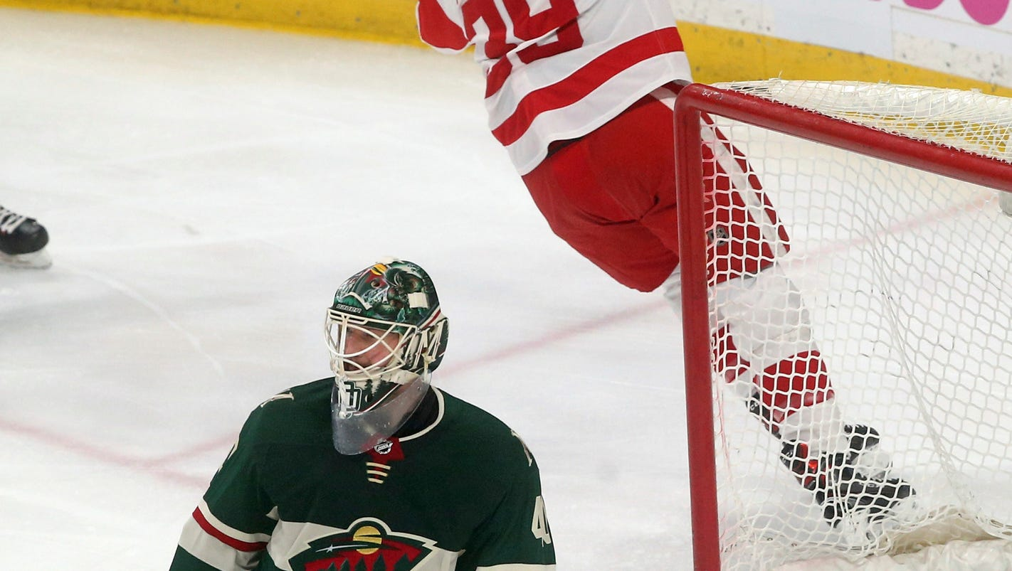 Wild 4, Red Wings 1