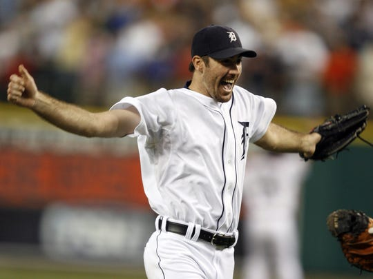Justin Verlander pitched the first no-hitter in Comerica Park history, striking out a career-high 12, as the Tigers won 4-0 on June 12, 2007.