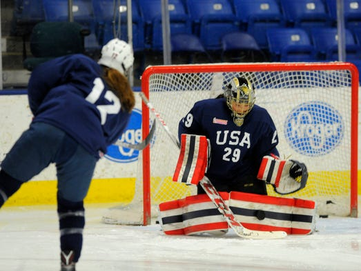 U S Women S Hockey Team Has Michigan Flavor