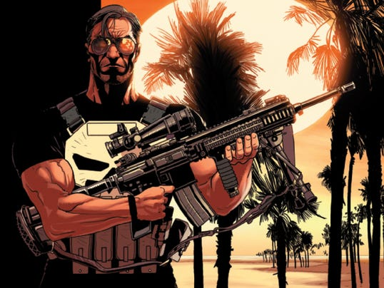 Punisher All New cover