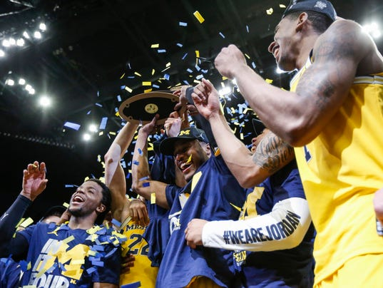 Michigan basketball run to Final Four continues in ...