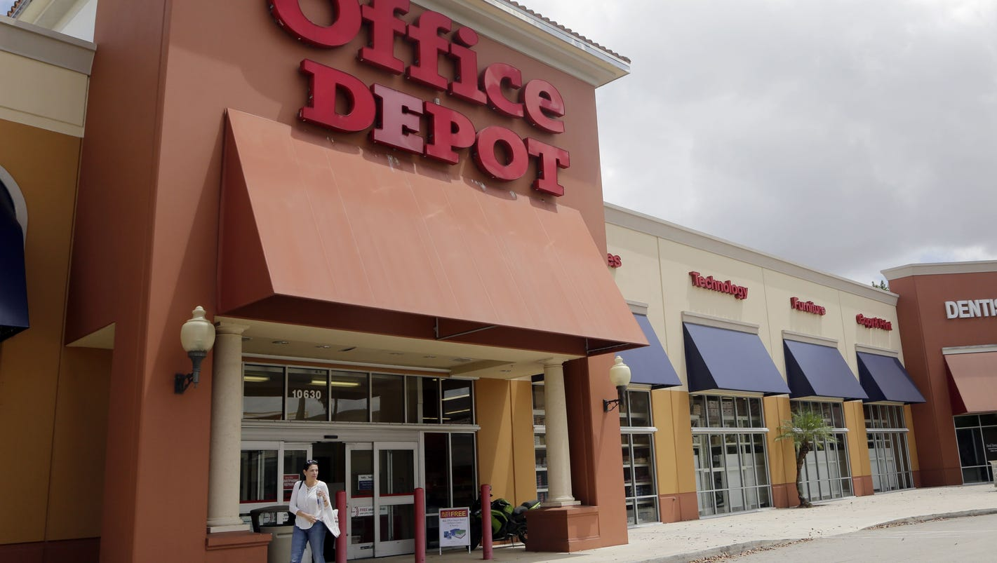 Bathroom Signs Office Depot office depot to sell its mainland china biz