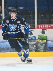 Cole Krygier was taken in the seventh round by the Florida Panthers in the NHL Draft.