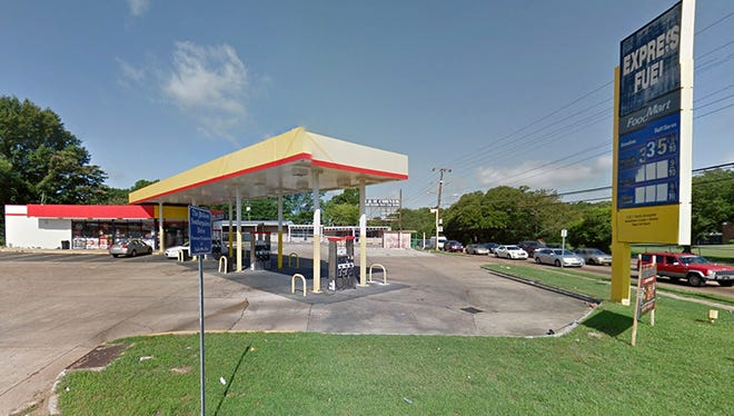 Express Fuel located at Bailey Avenue and Northside Drive in Jackson, Miss.
