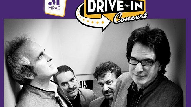 The Weeklings perform at drive-in concert on Aug. 18 at the Mayo Performing Arts Center, Morristown, New Jersey.