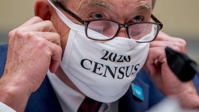 Census Bureau Director Steven Dillingham on July 29, 2020, in Washington, D.C.
