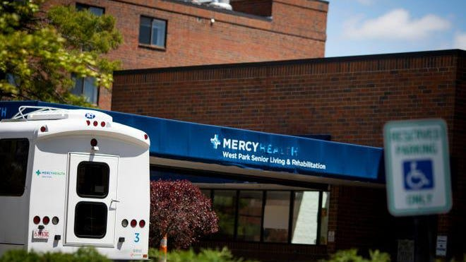 Sixteen people have died due to COVID-19 at the Mercy West Park nursing home in Cincinnati, but the information was not directly released to the public.