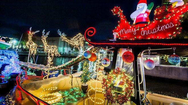 The 19th Annual Boat Parade of Lights will be taking place on Saturday from 7-9 p.m. with COVID precautions in place.