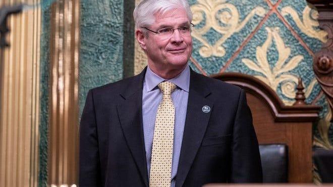 Senate Majority Leader Mike Shirkey, R-Clarklake