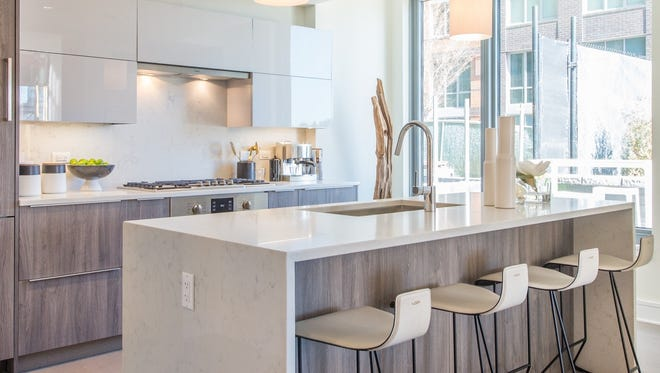 Each unit at Nine on the Hudson has filled the generous square footage with top-of-the-line appliances and finishes.