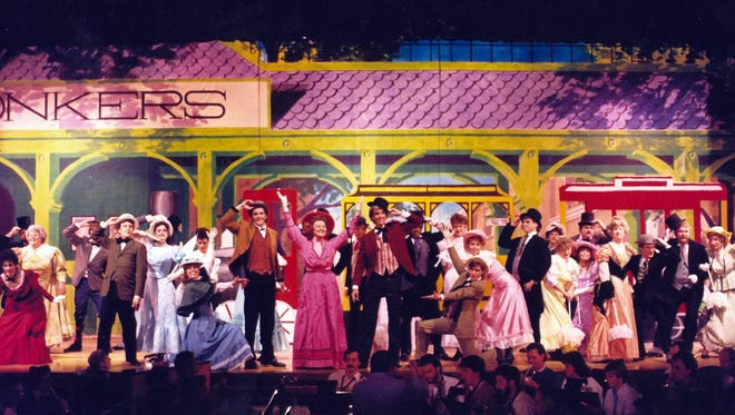 """Pittsford Musicals has been staging performances for more than 50 years, including this rendition of """"Hello Dolly"""" back in 1987."""