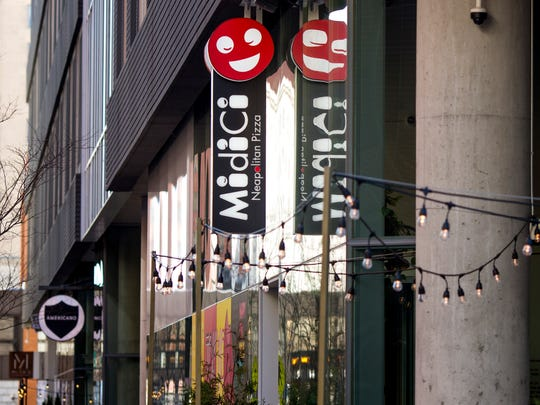 """Fri., March 2, 2018: MidiCi means """"You tell me!"""" in Italian.The Neapolitan Pizza Company opened on the corner of Race Street and Sixth Street."""