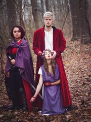 """Jasmine Winthrow, Kevin Roach and Olivia Schaperjohn will all perform in Evansville Shakespeare Players production of """"Titus Andronicus."""""""