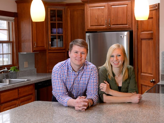 Roger and Bonnie Smith in their home in Williamstown Township just outside Williamston. The couple is moving to Grand Rapids and sold their home very quickly after receiving multiple offers when it was listed.