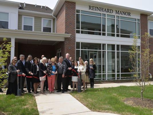 Reinhard Manor - Grand Opening - Ribbon - 5-20-15