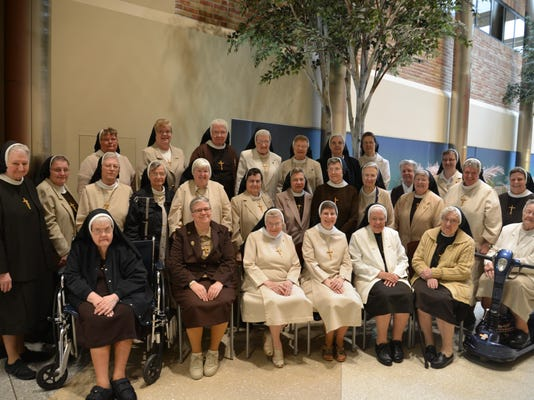 Sister Janet Marie Adamczyk with Felician Sisters_May 21 2015.jpg