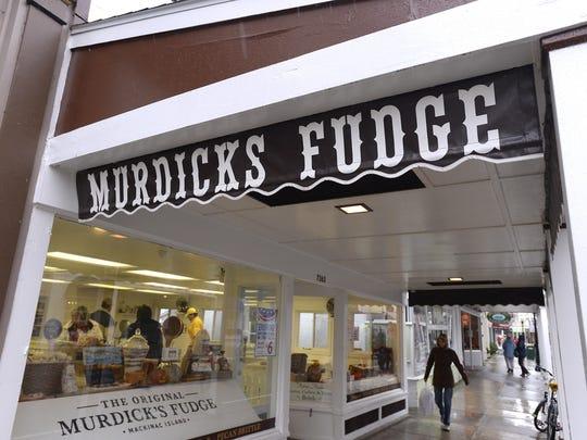 Murdick's Fudge on Mackinac Island.