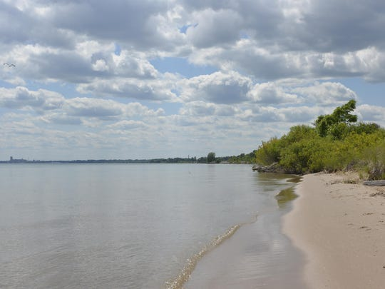 Manitowoc's beaches have shrunk back to 'normal' size