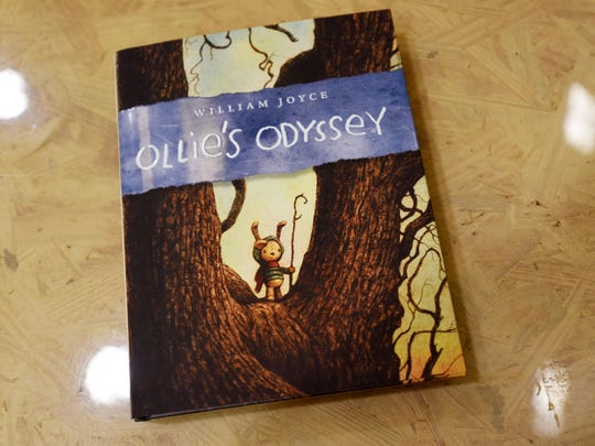 William Joyce has a new book called Ollie's Odyssey.