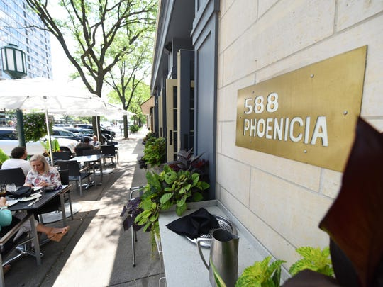 Phoenicia, different from local Mideastern fare spots, has a kind of sophistication that typifies restaurants with ambition.