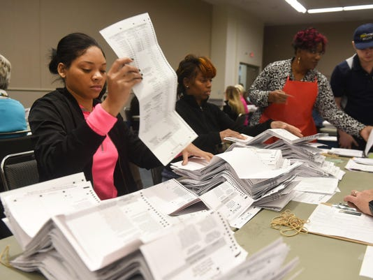 Wayne County recount