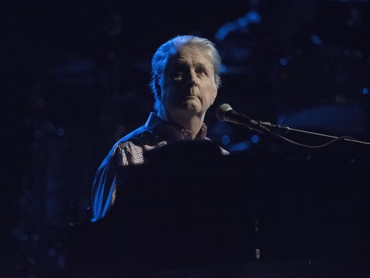 Brian Wilson performs at the New York State Fair in
