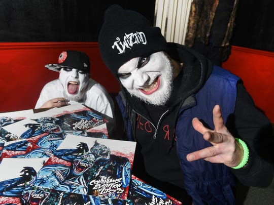 Paul Methric, aka Monoxide, and Jamie Spaniolo, aka Jamie Madrox, right, are the brains behind Astronomicon, the fan convention celebrating its second anniversary in Sterling Heights Feb. 8-10.
