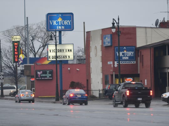 The Victory Inn located on Michigan and Wyoming avenues in Detroit has been shuttered by a judge for a year.