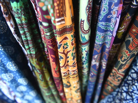 Popular wrap skirts in plenty of colors from Tribalfare, which offers clothing and home decor from India.