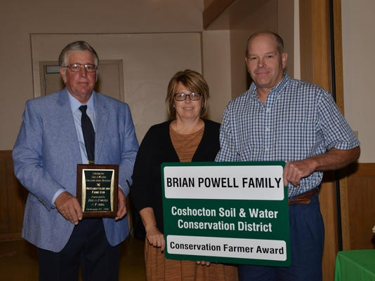 B. Powell Outstanding Farmer
