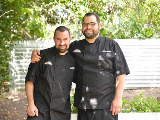 Chef Eric Voigt, left, is the new executive chef and Bill Morales the new executive sous chef at Big Rock Chophouse in Birmingham.