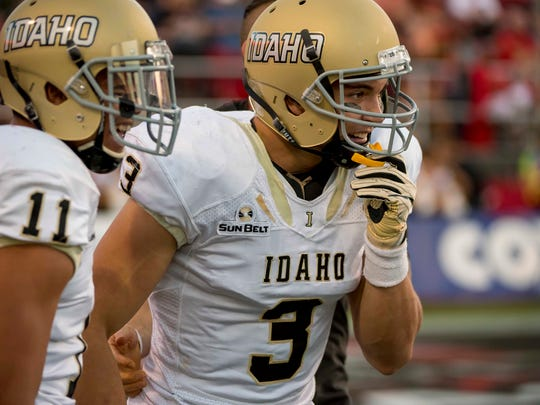 NCAA Football: Idaho at UNLV
