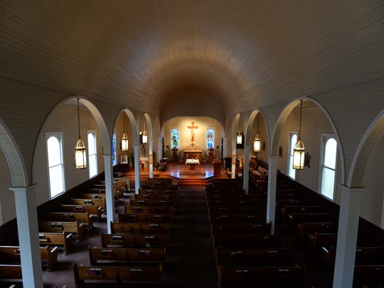 "The St. Augustine Catholic Church, Isle Brevelle, was the setting for the wedding scene in ""Steel Magnolias."""