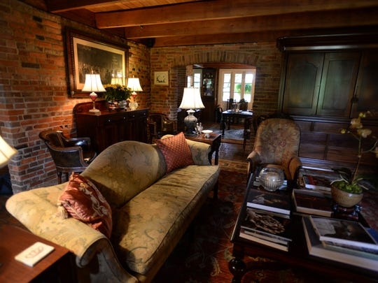 "The living room of the Tauzin house in Natchitoches, was the setting for several scenes in ""Steel Magnolias."""