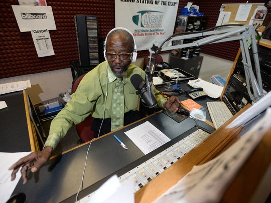 Eddie Giles was a gospel announcer for more than 40 years, as well as a program and music director at KOKA radio station.