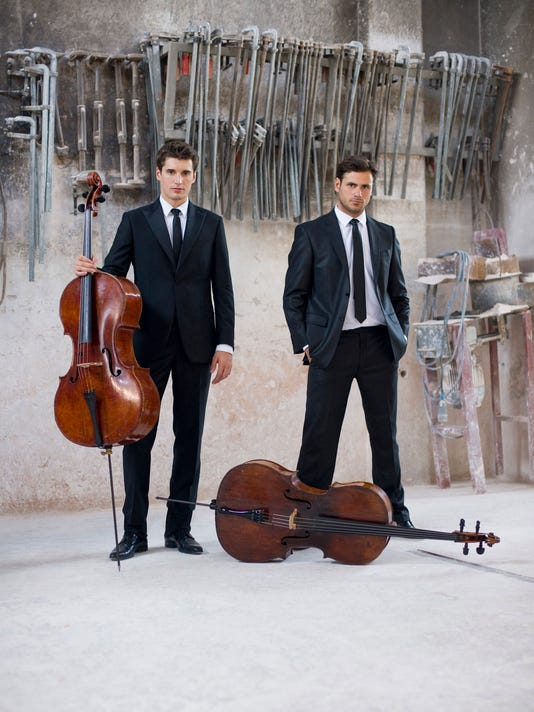 PNI mr Community Voices 2 Cellos perform in Mesa