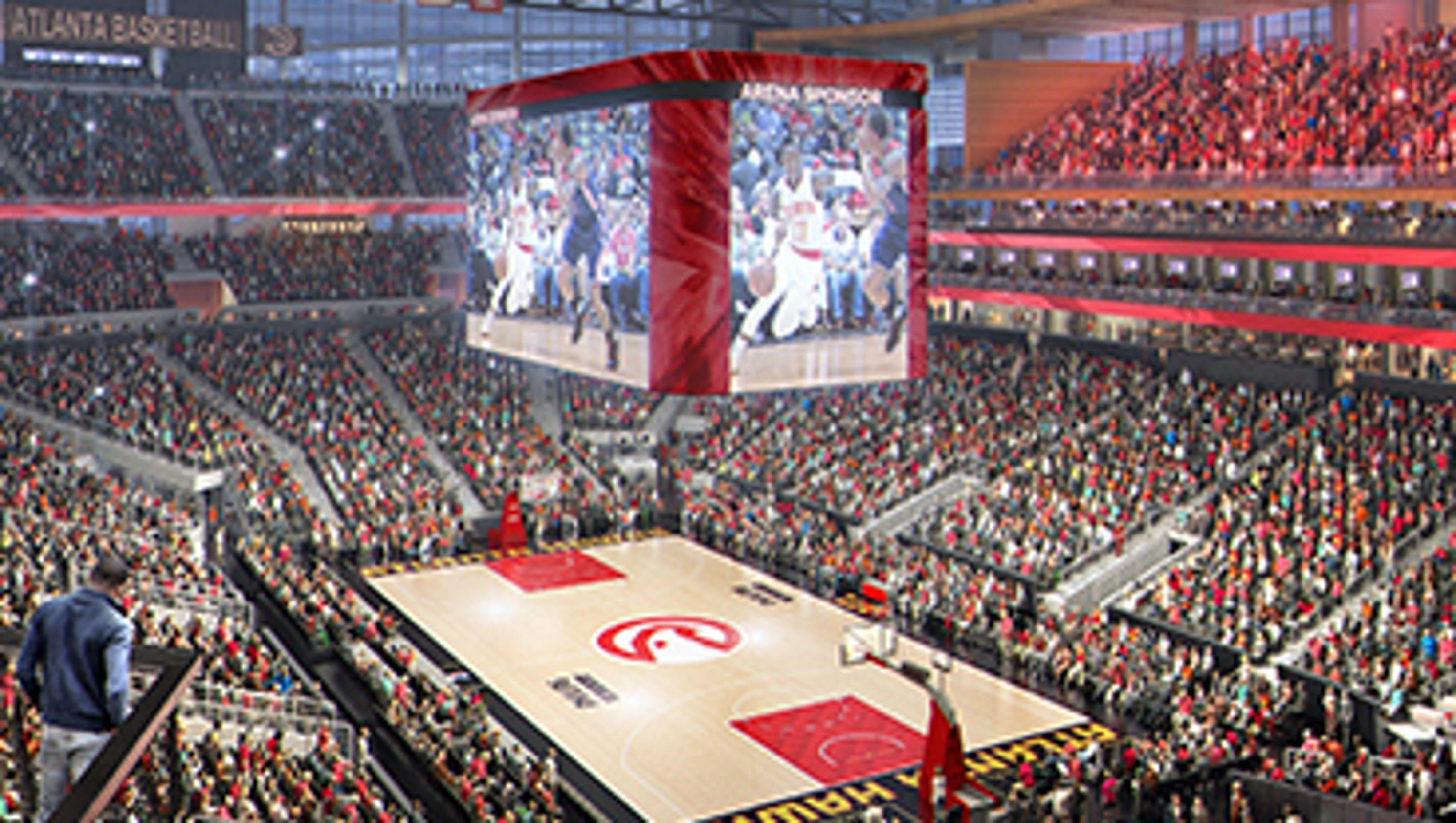 Bowl Season 2018 >> Atlanta Hawks getting 'new' Philips Arena