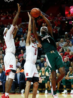 MSU guard Joshua Langford is averaging 13.6 points a game in his sophomore season.