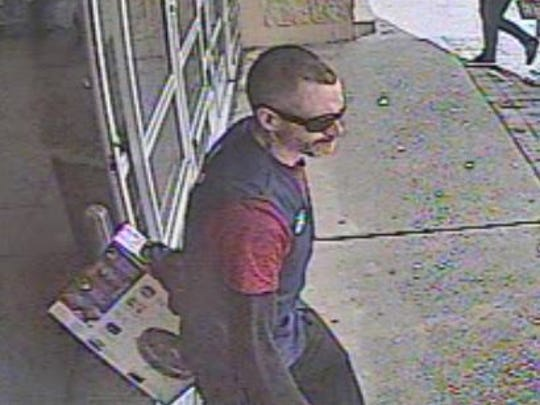 Springettsbury Township police are asking for the public's help in identifying this man, who they say stole from the Walmart on East Market Street on March 29.