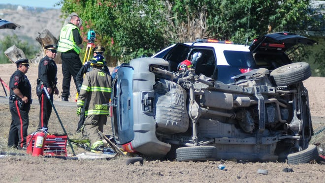 New Mexico State Police confirmed a fatal crash occurred Monday morning near N.M. 28 and Afton Road in the La Mesa area.