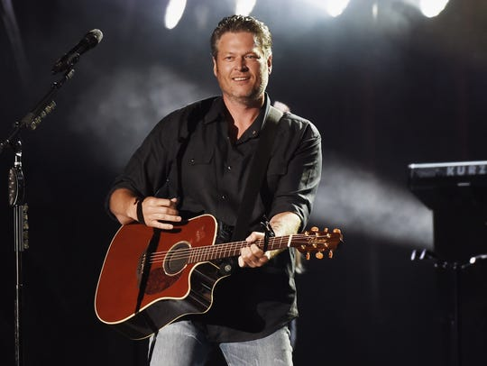 Blake Shelton performed at Happy Valley Jam 2017 in