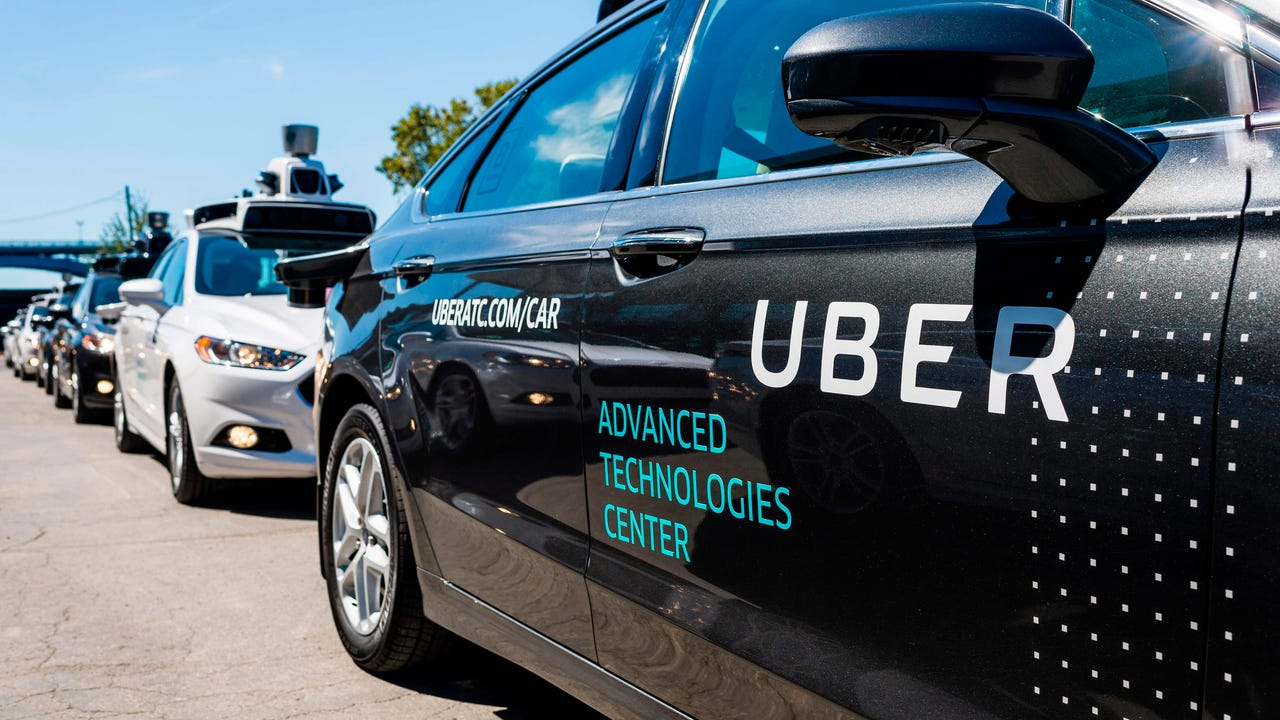 Police release Uber self-driving SUV crash video