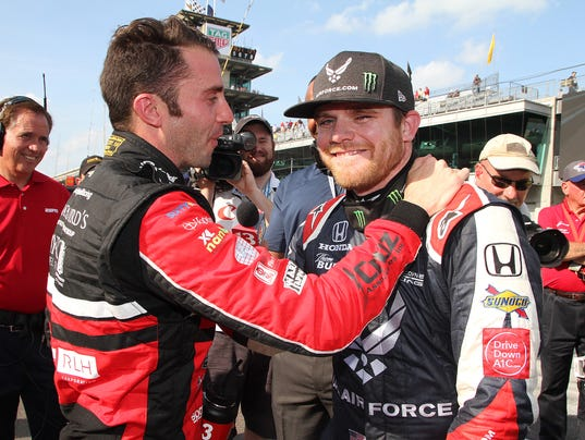 IndyCar qualification day for Indy 500 at Indianapolis Motor Speedway