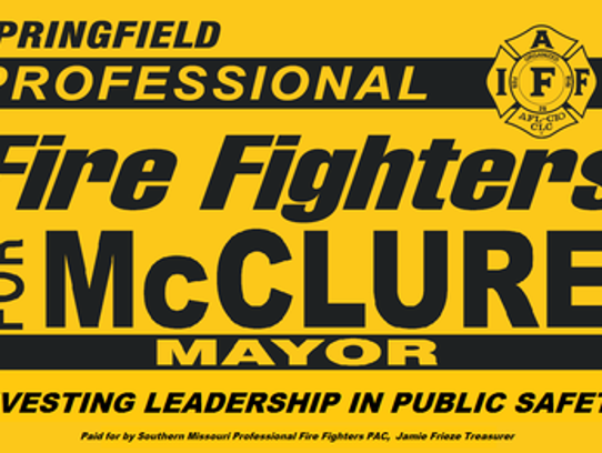 The union that represents Springfield firefighters