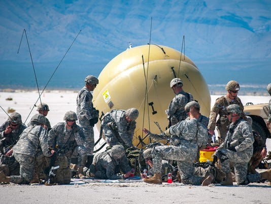 600 Soldiers Jump at White Sands Missile Range