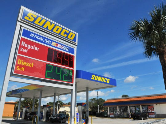 Gas prices are sustaining their dip below $2 a gallon